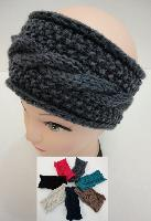 Hand Knitted Ear Band [Cable Knit] LOOP